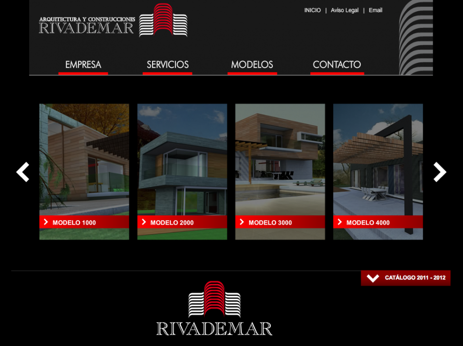 Rivademar new website design | Rivademar