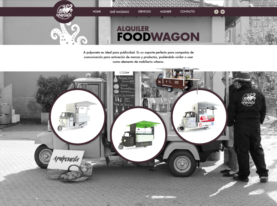 FoodWagon | A pulponeta