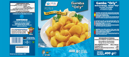New packaging design Gamba Orly